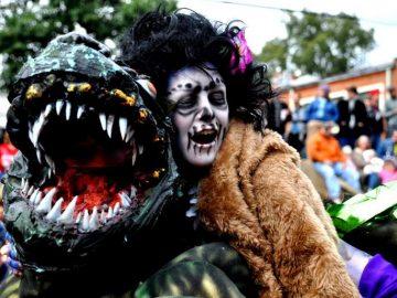 zombie parata halloween