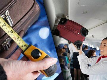 misure bagaglio a mano in cabina aerea